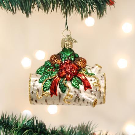 $18.99 Yule Log Ornament