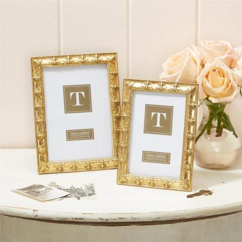 Two\'s Company   Golden Bee Frame 4x6 $25.00
