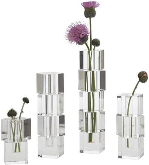 $62.00 Stacked Block Vase Large