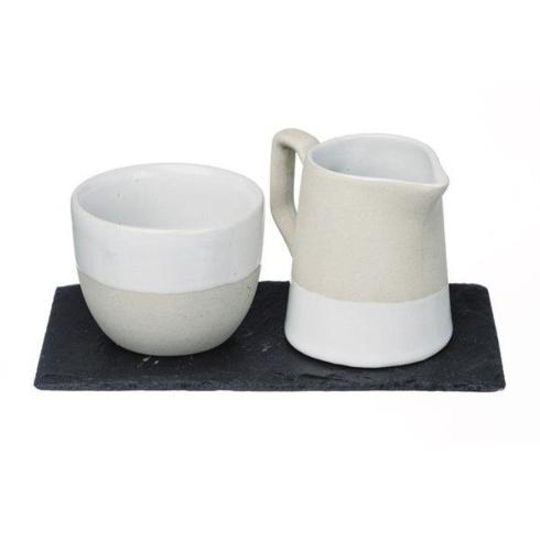 $66.00 Milk & Sugar on Slate Tray