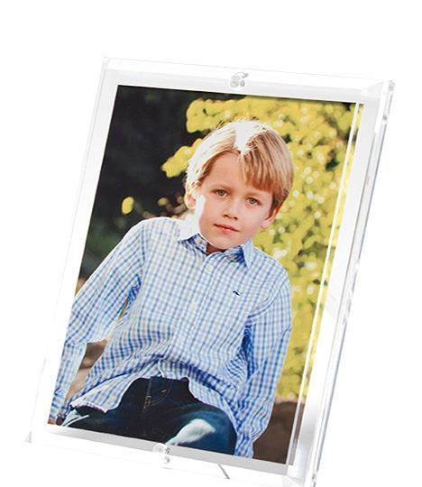 Tara Wilson Designs   Acrylic Beveled Frame 5x7 $75.00
