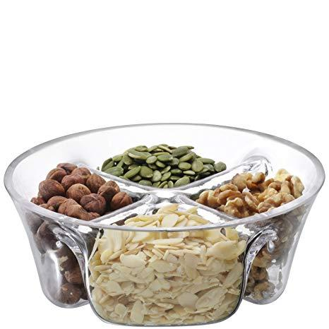 $42.00 Multi Serving Dish, clear