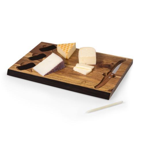 $33.00 Delio Acacia Cheese Board with Tools