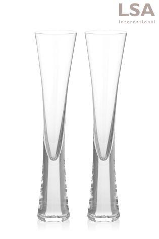 LSA International   Moya Champagne Flutes Set/2 $66.00
