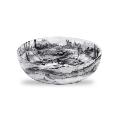 $66.00 Medium Bowl Black & White