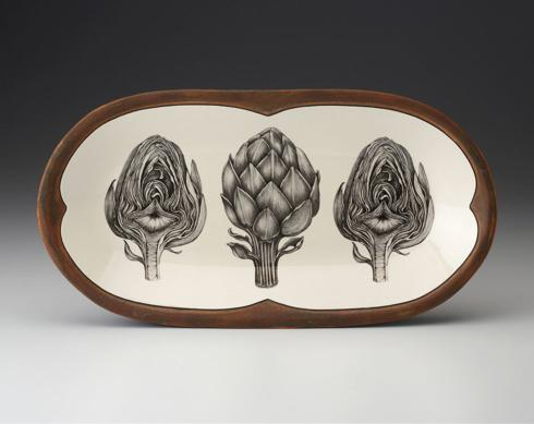 Laura Zindel Design   Artichoke Platter, Sm $165.00