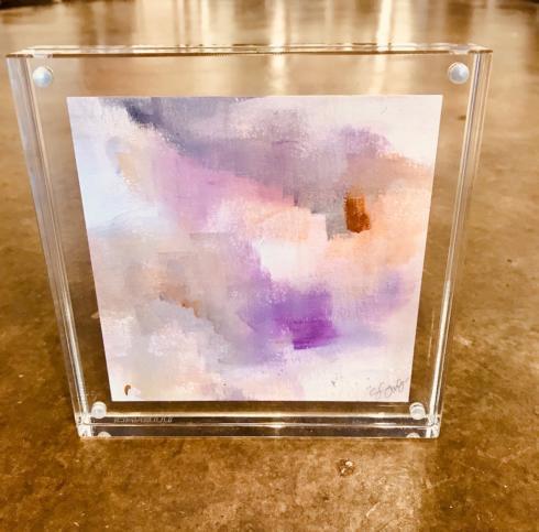 $78.00 Sarah Swanson 6x6 Framed Watercolor