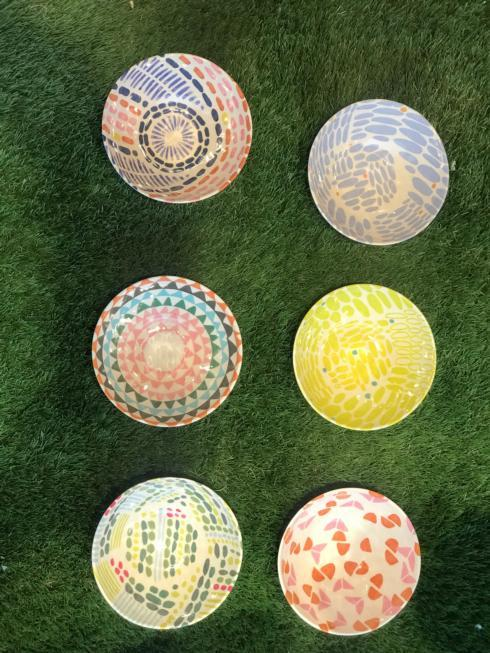 """$10.00 Anne Bentley Pattern 6"""" Melamine Bowl"""