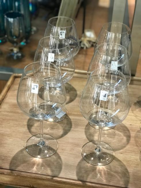 $80.00 Prédicat Burgundy Grand Wine Glasses (Set of 6)