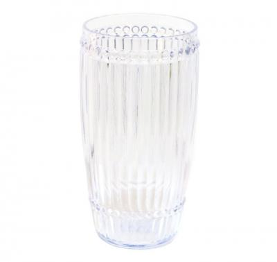 $11.00 Large Tumbler, Clear