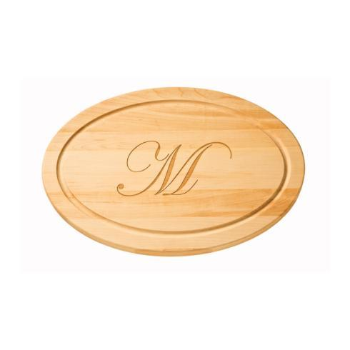 $164.00  Medium Oval Board w/ Monogram, 18x12