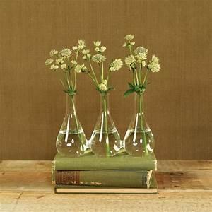 HomArt   Trio glass vase $28.00