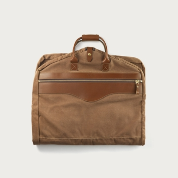 White Wing Label   Waxed Canvas Garment Bag $277.00