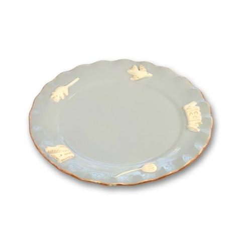 $36.00 Whisker Plate - French Grey