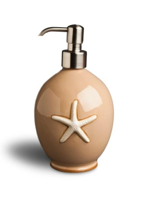 $55.00 Soap/Lotion Brushed Stainless Pump - Sand