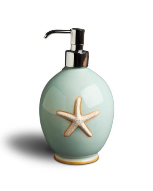 $55.00 Soap/Lotion Polished Chrome Pump - Ocean