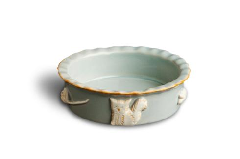 $36.00 Food/Water Bowl - French Grey