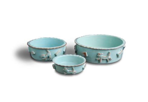 Food/Water Bowl - Baby Blue