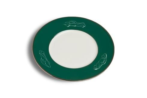 $94.50 Salad/Dessert Plate - British Racing Green (sold in boxes of 2)