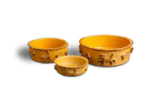 Food/Water Bowl - Caramel