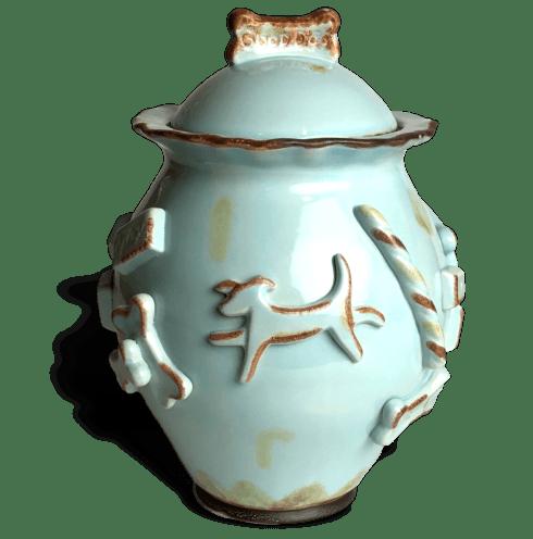 Treat Jar - Baby Blue image