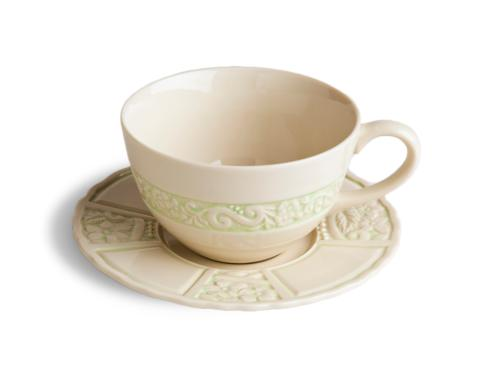 $78.00 Latte Cup & Saucer - Green (sold in boxes of 2)