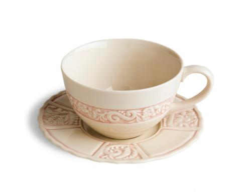 $78.00 Latte Cup & Saucer - Pink (sold in boxes of 2)
