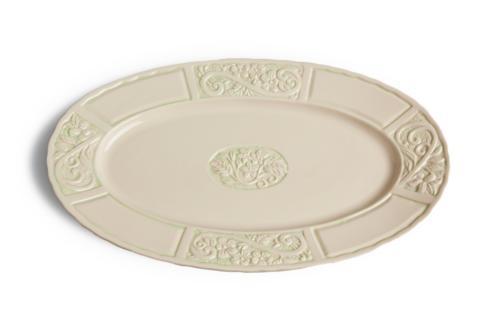 $67.00 Oval Platter - Green