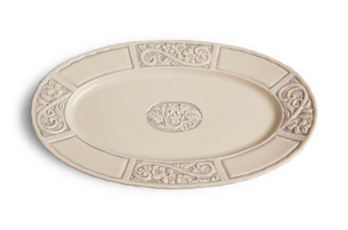 $67.00 Oval Platter - Lavender
