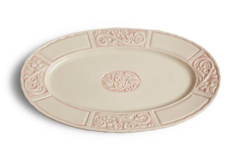 $67.00 Oval Platter - Pink