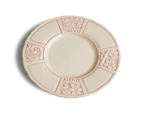 $112.00 Salad Plate - Pink (sold in boxes of 4)