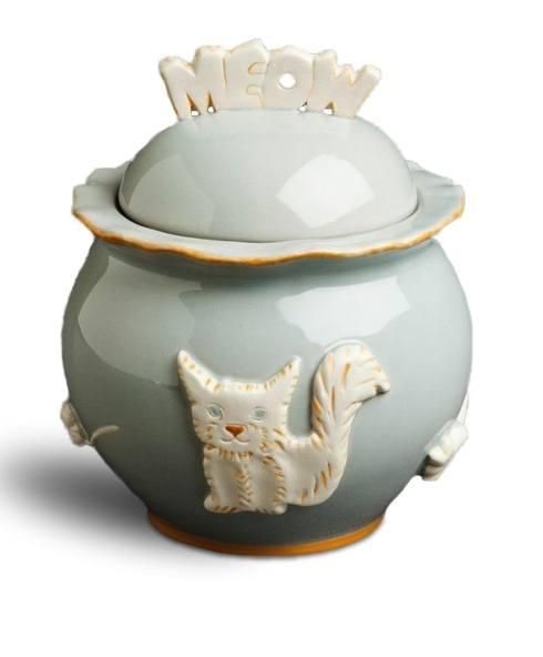 $54.00 Treat Jar - French Grey
