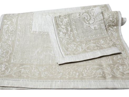 $129.00 Beige Table Runner