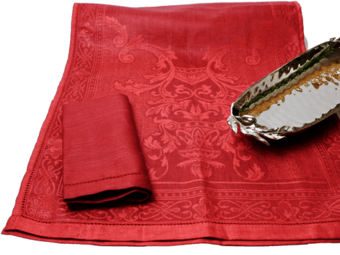 $129.00 Claret Red Table Runner