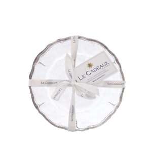 Rustica White appetizer plates set/4 collection with 1 products