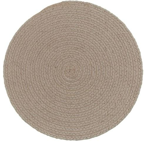 Stone round placemat