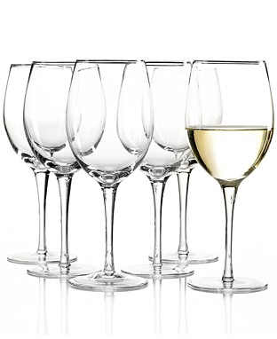 Tuscany classic white wine set/6 collection with 1 products