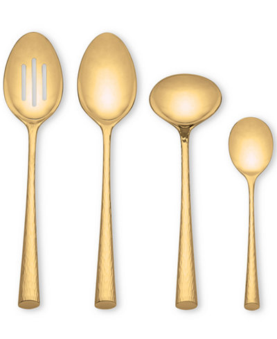 $33.00 Imperial Caviar Gold pierced tablespoon