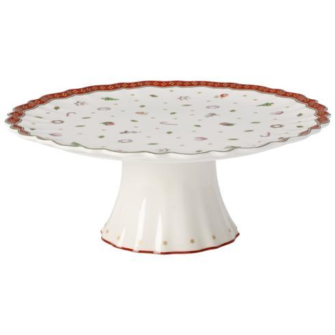 $100.00 Toy\'s Delight footed cake plate