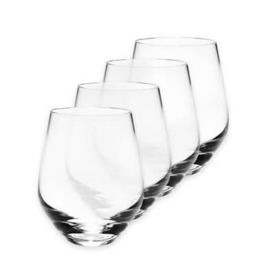 Tuscany set/4 stemless white wines collection with 1 products