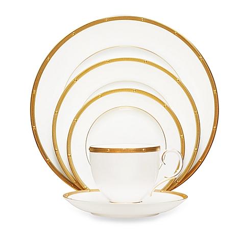 $18.00 Rochelle Gold saucer