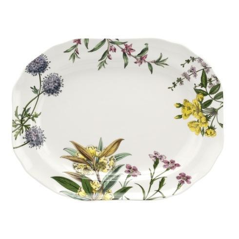 "Oneida   Spode Stafford Blooms 14"" platter $75.00"
