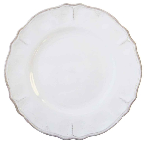 Rustica White dinner plate collection with 1 products
