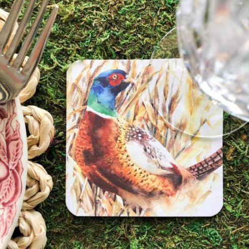 $26.00 Pheasant Coasters