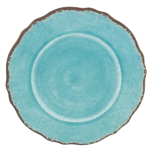 Antiqua Turquoise dinner plate collection with 1 products