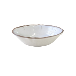 $18.00 Rustica White cereal bowl