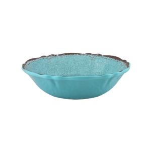 $18.00 Antiqua Turquoise cereal bowl