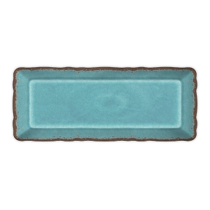 $22.00 Antiqua Turquoise baguette tray