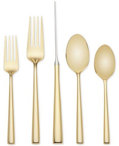 $90.00 Malmo Gold flatware 5 piece place setting