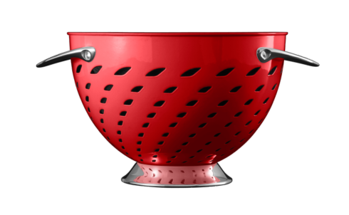 Colander, Red collection with 1 products